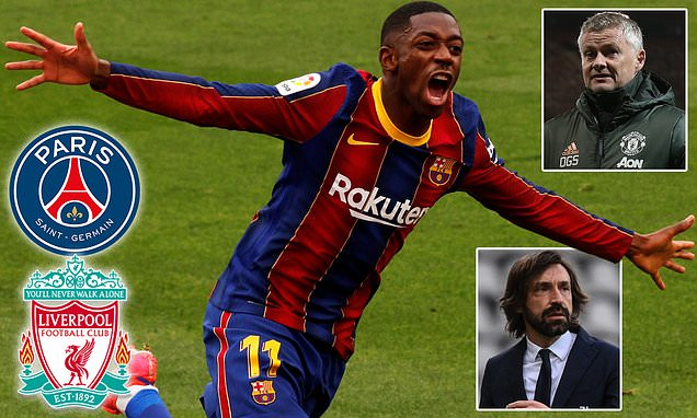 Barcelona 'braced for bids from Man United and Juventus for Dembele'