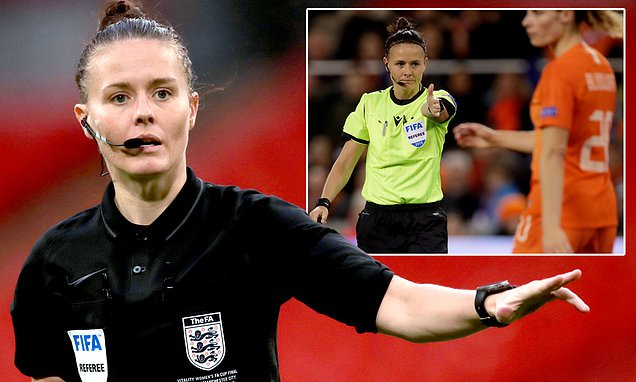 Rebecca Welch first woman to referee an EFL fixture from the start