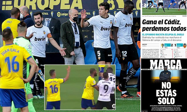 Marca's headline of 'Cadiz win, we all lose' really stands out