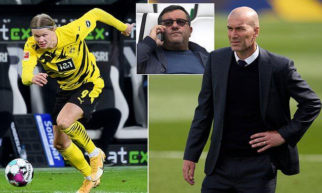 Real Madrid 'are FEIGNING interest in Dortmund striker Erling Haaland'