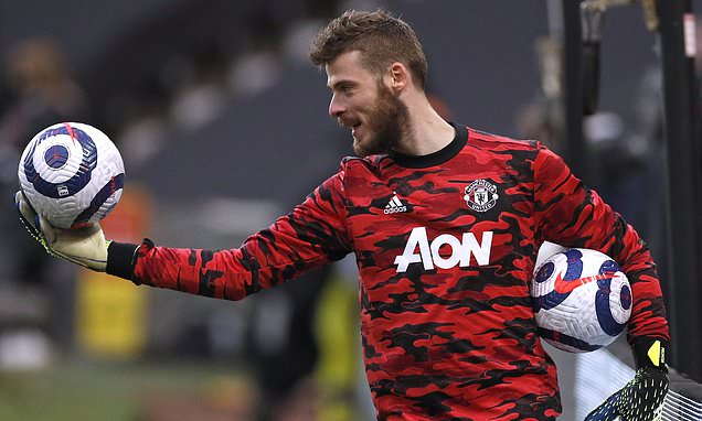 David de Gea eyes up summer transfer away from Manchester United