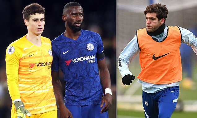 Chelsea's Marcos Alonso insists training ground fracas is GOOD