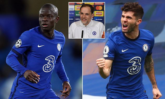 Chelsea's N'Golo Kante and Christian Pulisic declared fit for Porto