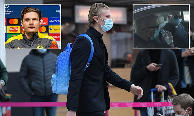 Dortmund's interim bossTerzic unfazed by Haaland's transfer tour