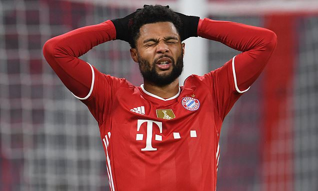 Bayern Munich winger Serge Gnabry tests positive for Covid-19