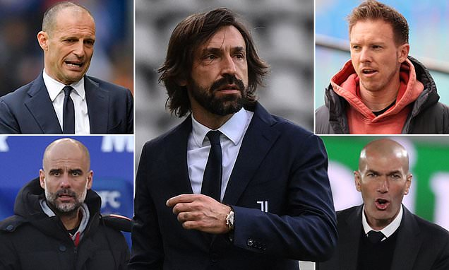 Who could be next Juventus manager if Andrea Pirlo is sacked?