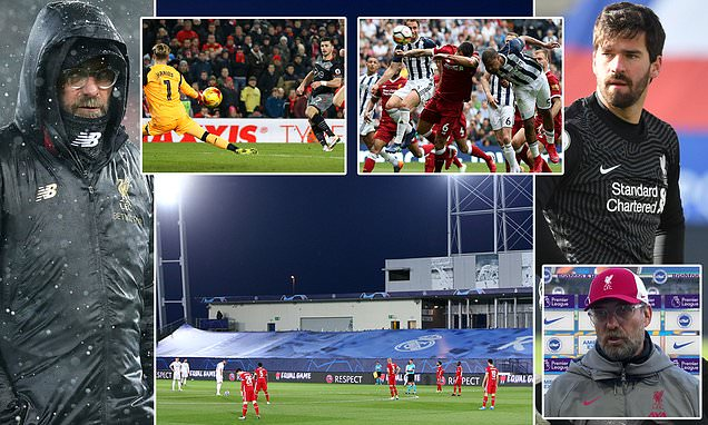 Jurgen Klopp's long list of excuses for Liverpool's poor displays