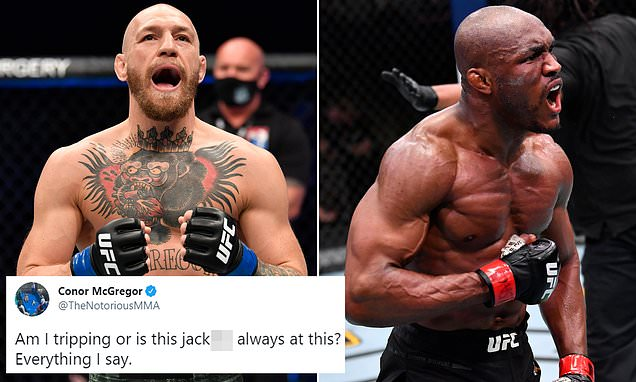 Conor McGregor accuses Kamaru Usman of STEALING his one-liners