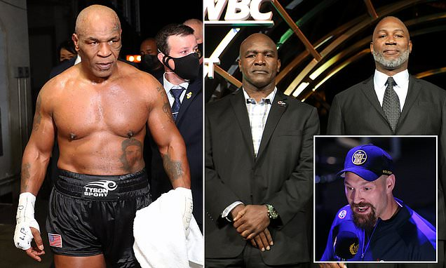 Tyson names three opponents he wants to face before retiring for good