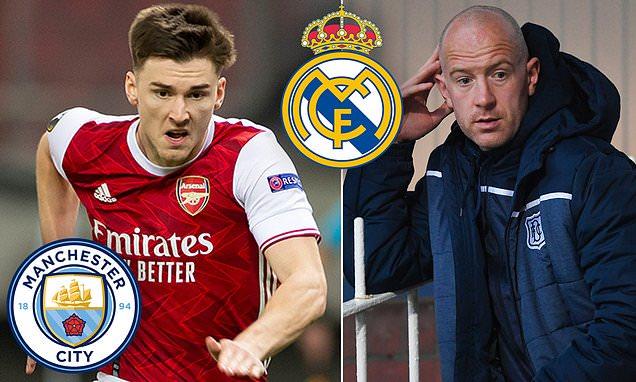 Kieran Tierney 'ready' for Madrid or Man City move, says Charlie Adam