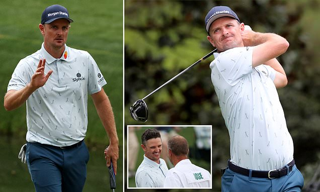 Justin Rose shoots his lowest-ever Masters round to lead on day one