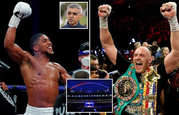 Khan gives backing for Joshua fight versus Fury to be held at Wembley