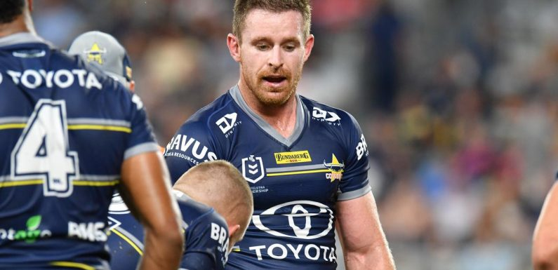 Morgan likely 'won't play again' as Cowboys approach NRL over $3m contract pay-out