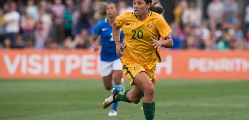 New Matildas coach hails Kerr's toughness