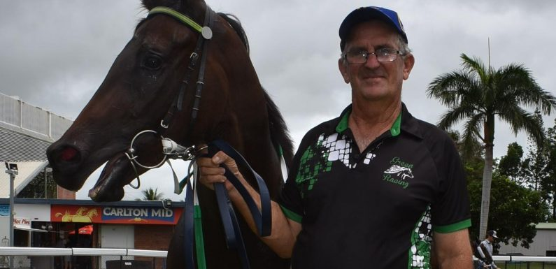 Trainer Graeme Green is excited talented juvenile Ahooshu is owned outright by his wife