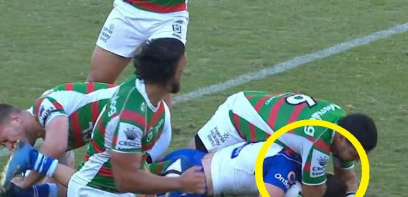 NRL star in hot water for dirty dog shot that crossed the line