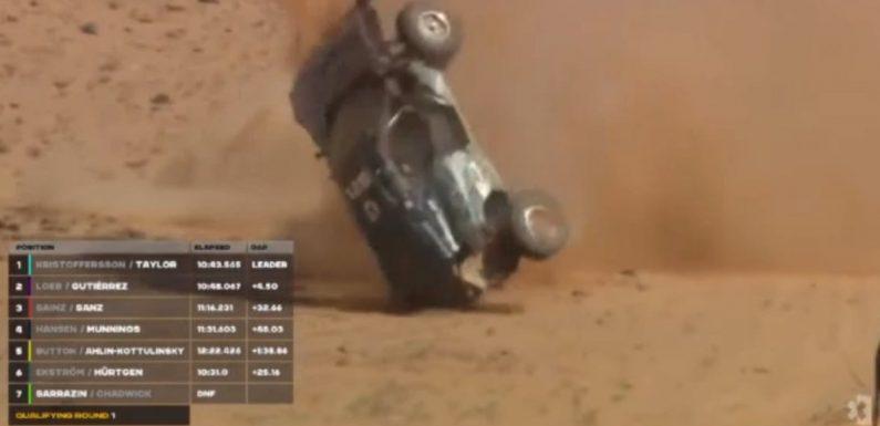 Extreme E driver Claudia Hurtgen walks away from horrifying crash in qualifying