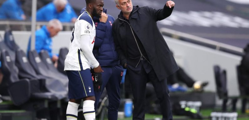 Tottenham boss Jose Mourinho expects more from 'amazingly talented' Tanguy Ndombele