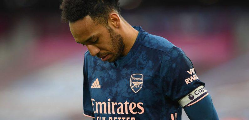 Pierre-Emerick Aubameyang's poor goalscoring form not linked to new contract, says Mikel Arteta