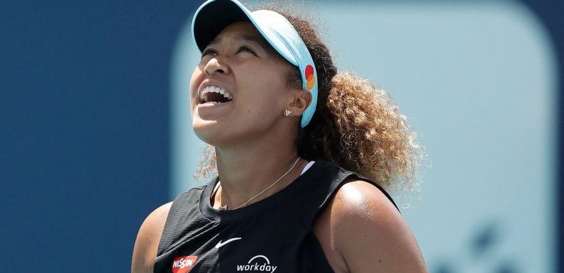 Miami Open: Naomi Osaka hopes to learn lesson after 23-match win streak snapped by Maria Sakkari