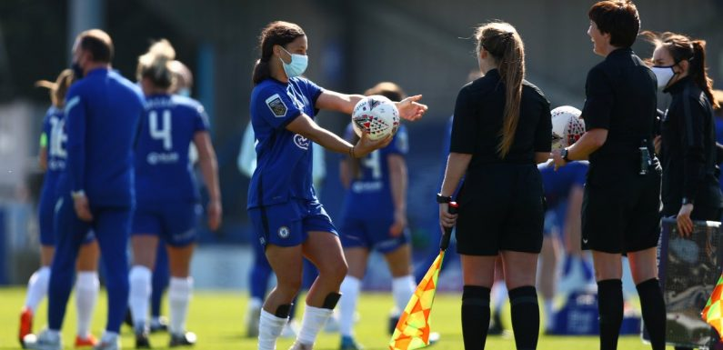 Sam Kerr bags first-half hat-trick as Chelsea hit Birmingham for six in WSL