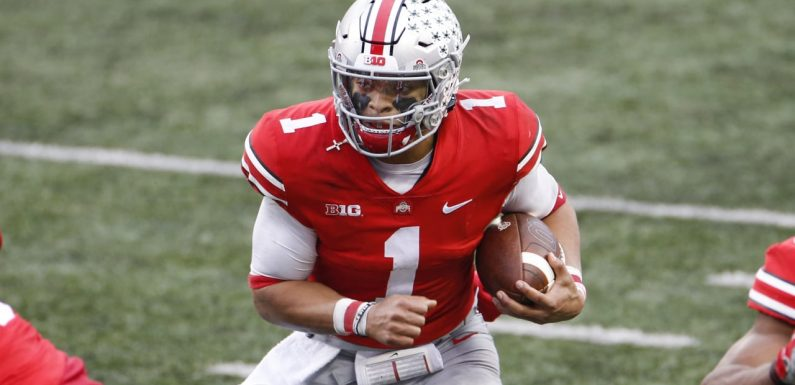 OSU coach Ryan Day calls out 'reckless' comments about QB Justin Fields' work ethic