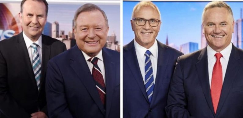 Rival TV news hosts trade snippy comments after Sunday Footy Show barb