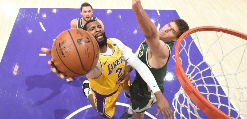 Drummond's Lakers debut cut short by toe injury
