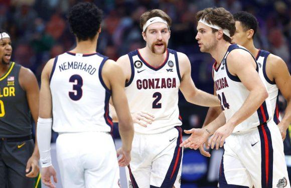 Gonzaga favorite to take title next year