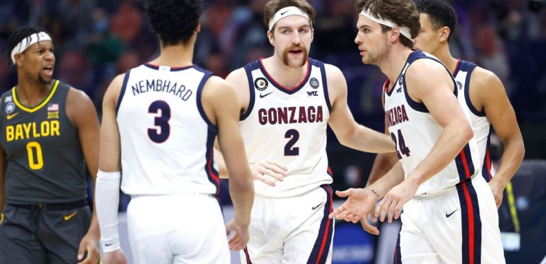 Gonzaga favorite to take title next year