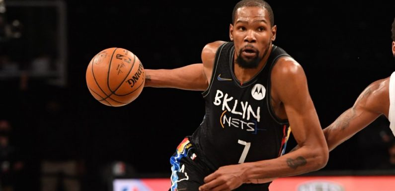 KD 'dives right into action,' goes 5-for-5 in return