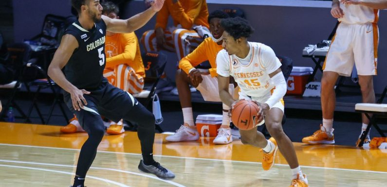 Vols freshman Johnson declares for NBA draft