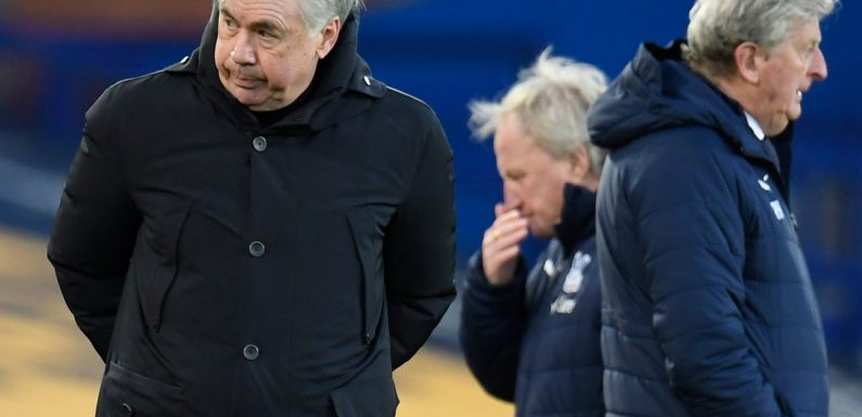 Everton still in the hunt for European spot but must 'be more focused', says Carlo Ancelotti
