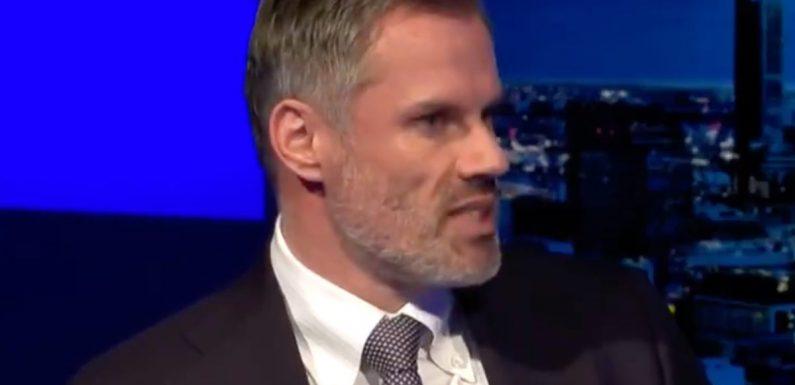 Jadon Sancho: Jamie Carragher explains why he wouldn't pick Dortmund star in England squad