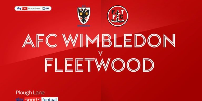 AFC Wimbledon 0-1 Fleetwood: Barrie McKay fires Town to victory