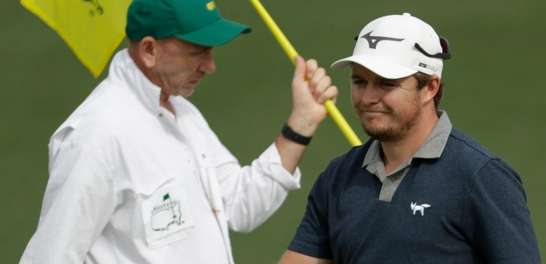 The Masters: Eddie Pepperell takes on Augusta National's iconic Amen Corner holes in the Shot Centre
