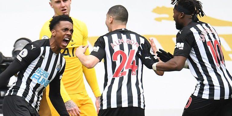 Newcastle 2-2 Tottenham: Joe Willock's late equaliser secures vital point in relegation battle