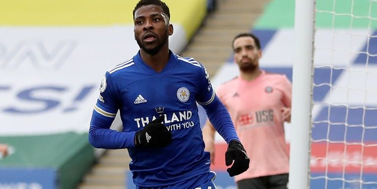 Kelechi Iheanacho: Leicester striker extends contract until 2024 after winning Player of the Month award