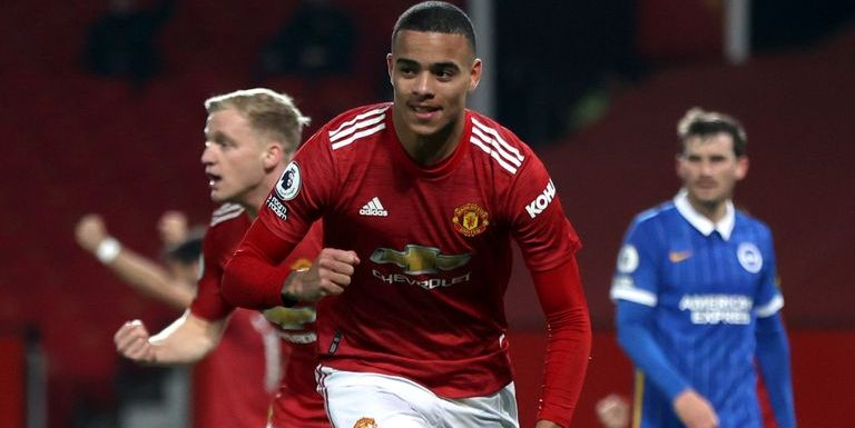 Manchester United 2-1 Brighton: Mason Greenwood completes comeback win for hosts