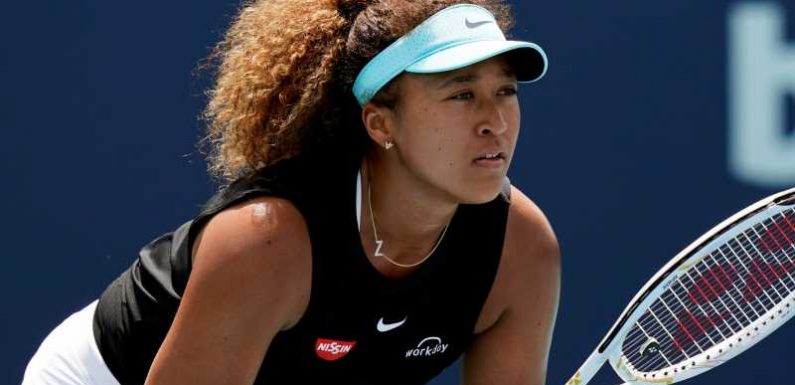 Naomi Osaka hopes to learn lesson after 23-match win streak snapped at Miami Open; determined to win on clay
