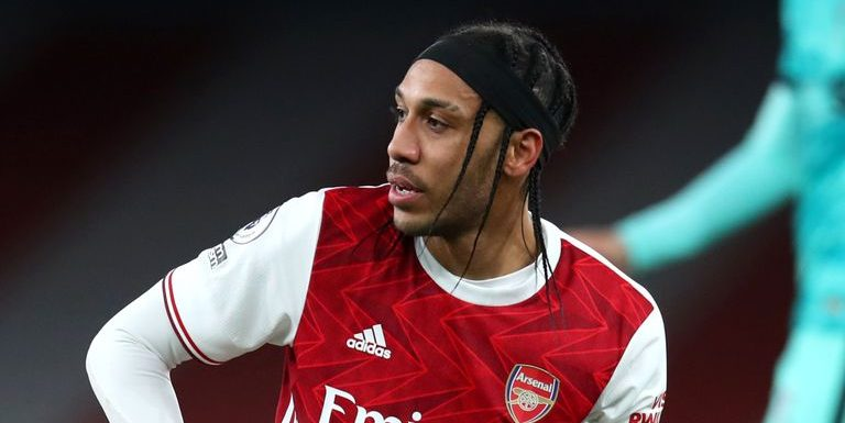 Jamie Carragher says Pierre-Emerick Aubameyang could become 'another Mesut Ozil situation' after 'lazy' performances
