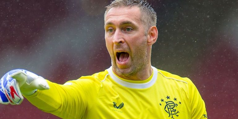 Allan McGregor: Rangers goalkeeper signs one-year contract extension at Ibrox