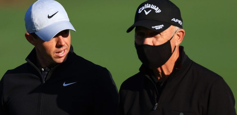 The Masters: Pete Cowen on what he is encouraging Rory McIlroy to work on at Augusta National