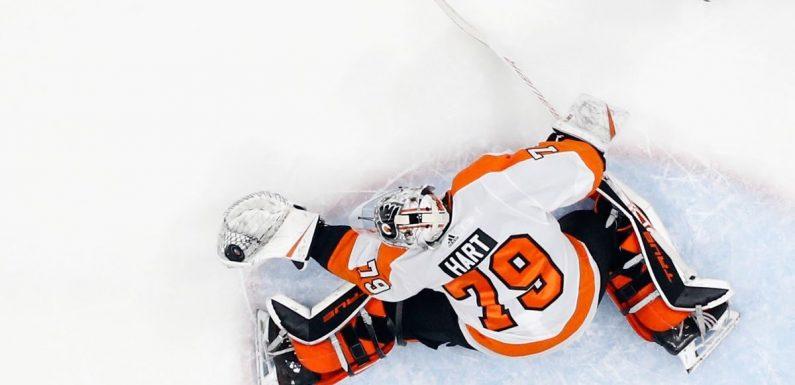 Carter Hart looks good in return, but the Flyers still suck
