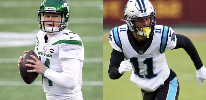 Robby Anderson ready to recapture 'very good chemistry' with new Panthers QB Sam Darnold