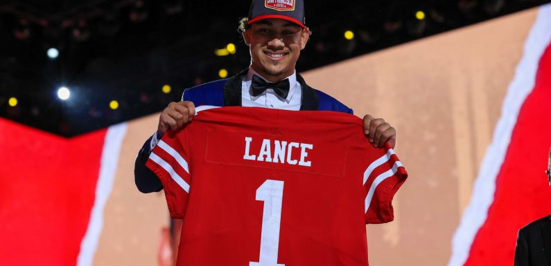 2021 NFL Draft: York's faith in Shanahan, Lynch led to Niners taking Trey Lance