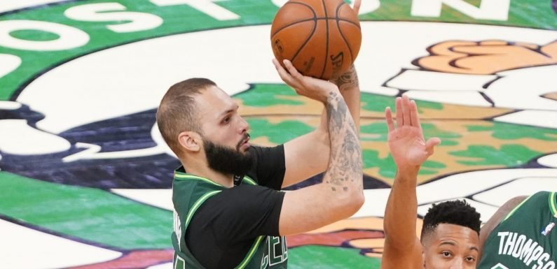 A month later, Boston's Evan Fournier playing through concussion-like symptoms after COVID-19