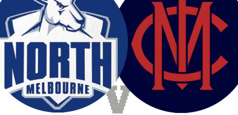 AFL 2021 LIVE updates: Demons lose Viney for clash with Roos; Blues, Bombers prepare for action with WA Derby still to come