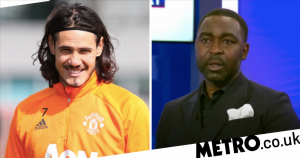 Andy Cole reacts to Edinson Cavani's contract U-turn at Manchester United