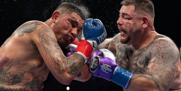 Andy Ruiz Jr survives a knock-down to outpoint Chris Arreola in his comeback fight